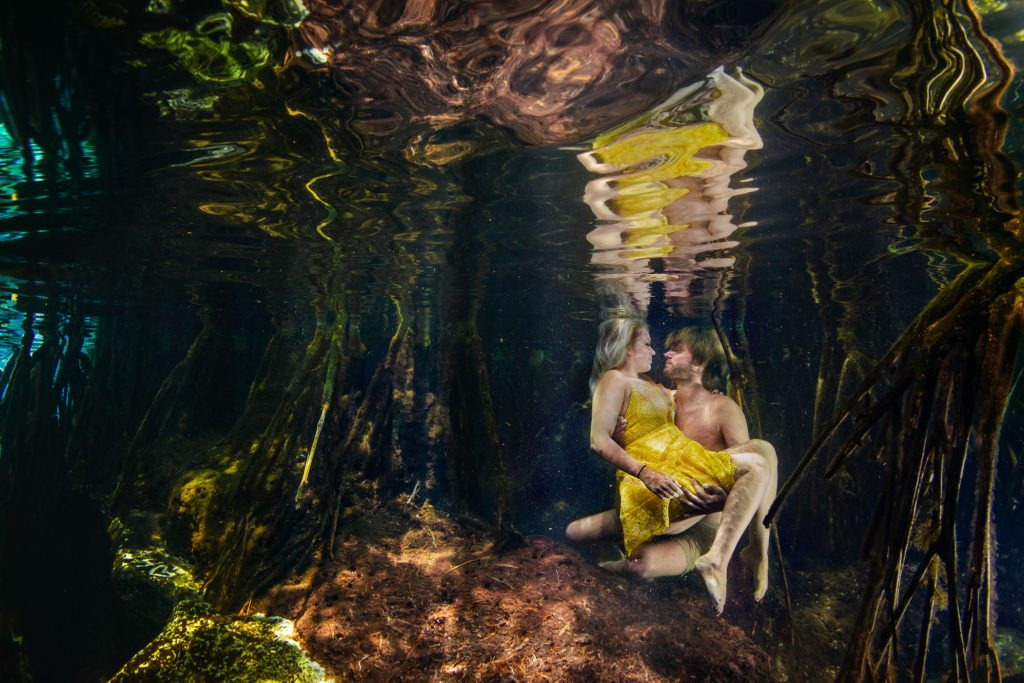 Cenote Photo Shooting Underwater Photography